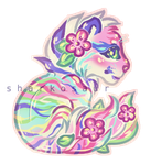 Pastel chibi by Sharkosaur
