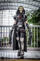 Reaper : If it lives, I can kill it. by bloodravencosplay