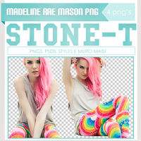 PNG PACK Madeline Rae Mason by Stone-t