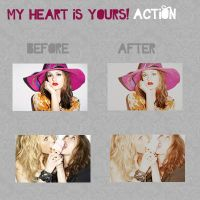 my heart is yours action.- by CrazyFeelings