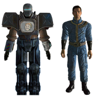 Securitron Mk1 Power Armor by Crimson-Knight77