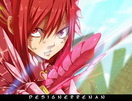 Fairy tail 398 - I Will Stop Face by DesignerRenan