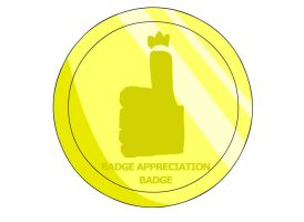 Badge Appreciation Badge by RyuPointGame