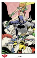 Dark Knight Print by scottygod