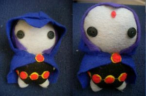 Raven Plushie by CheesyHipster