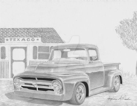1956 Ford Pickup 2 by rooks10904