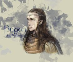 Fingon the Valiant by haleyhss