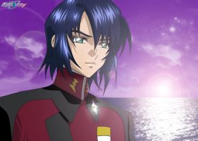 Athrun zala Soldier of zaft by lovedreams