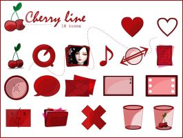 The Cherry Line Window XP by gwicons
