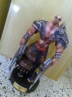 Kratos Papercraft by delay-papercraft