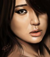 Yoon Eun Hye Digital Painting by keikei11