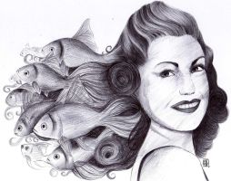 Esther Williams by A-Lack-of-Rainbows