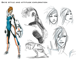 Skye Concept Art 03 by CoffeeStainStudios