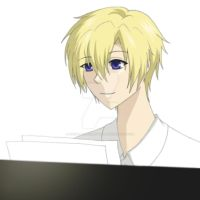 Tamaki Suoh Playing Piano by CrystalzAnimeTurtle