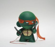 TMNT Munny by muscdaddy