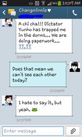 Changkyu Text Messages  4 by MangaandAnimeLuver