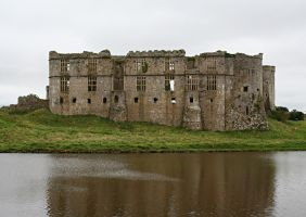 Carew Castle, Pembrokeshire 3 by OghamMoon
