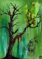 The Bleeding Forest by StaticSkies