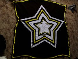 Crochet Army Star Blanket by Taikxo