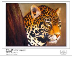 Brazilian Jaguar by OAK-Art-Gallery