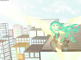 Wing - Eternal Song - + Speed Paint! by oishiipuddii