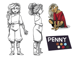 Character Sheet: Penny by Miss-Arsonist