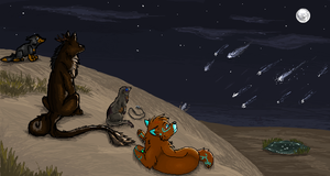 iScribble Collab #1 by Silvadruid
