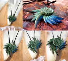 Salvaged Pieces Necklace by ValkyrieOfODIN