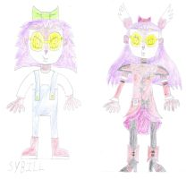 Sybill as Cure Passion by luis831