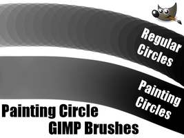 Painting Circle GIMP Brushes (For GIMP 2.6) by PkGam