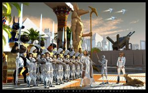 Troop Inspection by Fredy3D