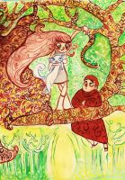 The forest of Kells by Clichepansy