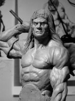 Conan the Barbarian detail by glaucolonghi
