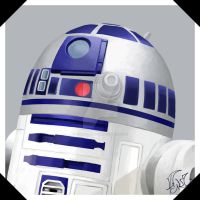 R2D2 by Tsukino-Black