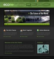 ECO Theme by dellustrations