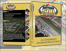 50th Daytona 500 DVD Cover by weebo322