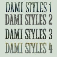 Style Set 5 by damilepidus