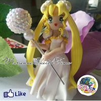 Handmade Princess Serenity Figure Polymer Clay by DarkettinaMarienne