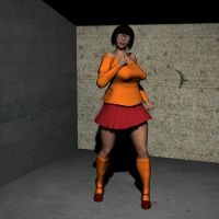 Velma Dinkley w.i.p. by Lord-Crios