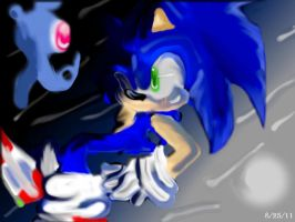 Sonic and Yacker by jhhgdhjfdtyjvcxdfghj
