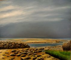 Storm Over the Bay by JBoudreau