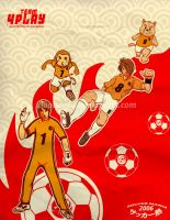 Playmakers and keeper by xiaobaosg