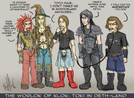 Dethklok: The Worlok of Klok by darkwater-pirate