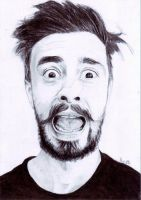 Kyle Simmons from Bastille by MKoji