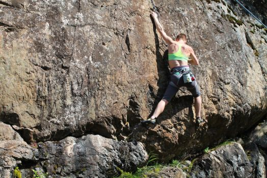 Mt. Wells 5.11b top rope by dalucia