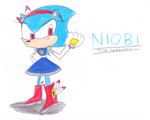 -Gift- Niobi the Hedgehog by sonic4ever760