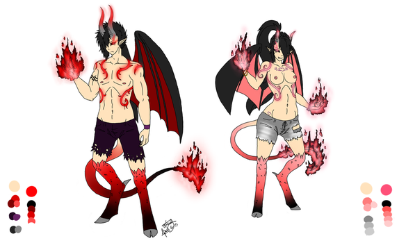 Demon Forms by starynight9846