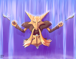 Day 15-Alakazam by ParadigmPizza