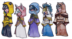 .Kingdom Hearts Foretellers. by CheshireSmile