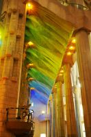La Sagrada Familia interior 6 by wildplaces